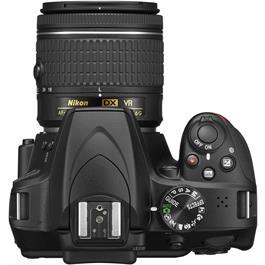 Nikon D3400 Body with 18-55 VR Kit Top