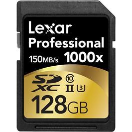 Lexar 128GB Professional 1000x UHS-II SDXC thumbnail