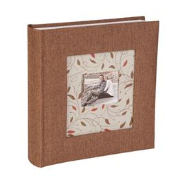 "Kenro Cottage Flowers Memo Brown 200 6x4"" Album thumbnail"
