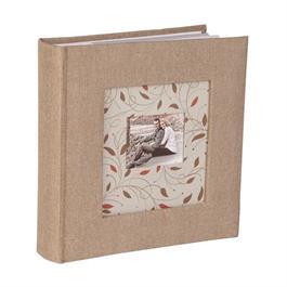 "Kenro Cottage Flowers Memo Grey 200 6x4"" Album thumbnail"