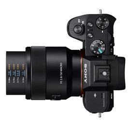 Sony FE 50mm f/2.8 Macro on Sony A7 II Top