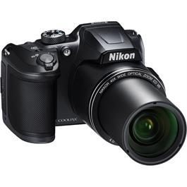 Nikon Coolpix B500 Black Front Angle Zoom