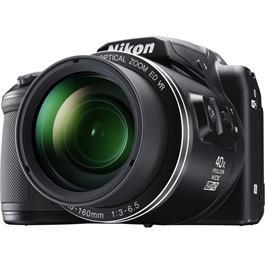 Nikon Coolpix B500 Black Front Angle Detail