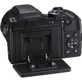 Nikon Coolpix B500 Black Back Angle Screen Flip