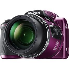 Nikon Coolpix B500 Plum Front Angle Detail