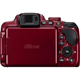 Nikon Coolpix B700 Red Back Screen Hidden