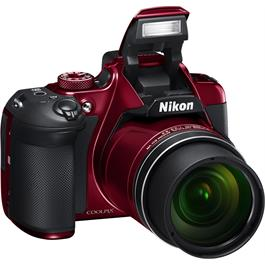 Nikon Coolpix B700 Red Front Angle Flash