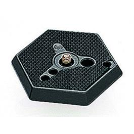 "Manfrotto 030-38 Hexagonal Quick Release Plate with 3/8"" Screw thumbnail"