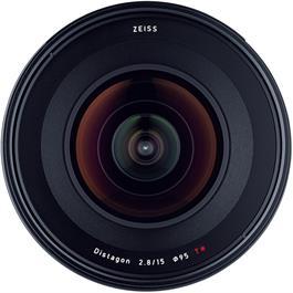 Zeiss Milvus 15mm f/2.8 ZE - Canon Fit Front