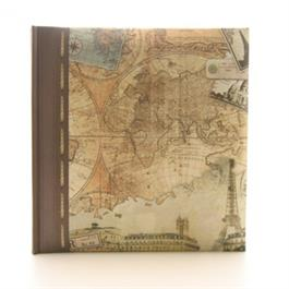 Kenro Holiday Old Map Design 6x4 Photo Album thumbnail
