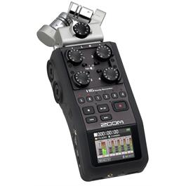 Zoom H6 Handy Recorder - 2 GB - Black thumbnail