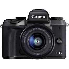 Canon EOS M5 with EF-M 15-45mm f/3.5-6.3 IS STM Lens Kit inc Adapter thumbnail