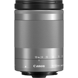 Canon EF-M 18-150mm Silver Side