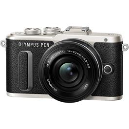 Olympus E-PL8 with 14-42 EZ Kit Front Angle