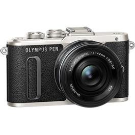 Olympus E-PL8 with 14-42 EZ Kit Front Angle 2