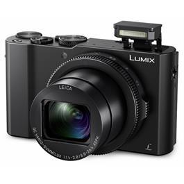 Panasonic LX15 Front Angle with Flash