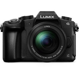 Panasonic G80 with 12-60 Kit Lens Front
