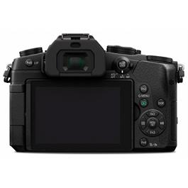 Panasonic G80 with 12-60 Kit Lens Back with Screen