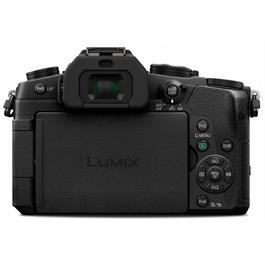 Panasonic G80 with 12-60 Kit Lens Bacl with Screen Closed