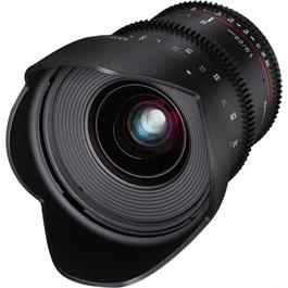 Samyang 20mm T1.9 VDSLR ED AS IF UMC Canon EF Mount Cine Lens thumbnail