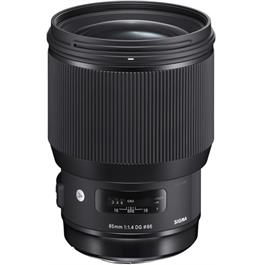 Sigma 85mm f/1.4 DG HSM Art Lens - Canon EF-mount thumbnail