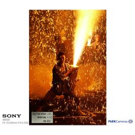 Sony a6500 mirrorless Digital Camera - Body - Black Thumbnail Image 8