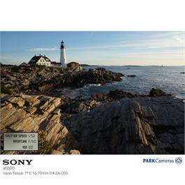 Sony a6500 mirrorless Digital Camera - Body - Black Thumbnail Image 10