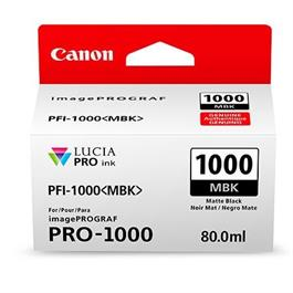 Canon PFI-1000 Matte Black Ink Cartridge thumbnail