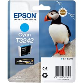 Epson Puffin T3242 Cyan Ink Cartridge for Epson SC-P400 thumbnail