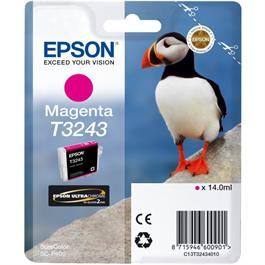 Epson Puffin T3243 Magenta Ink Cartridge for SC-P400 thumbnail