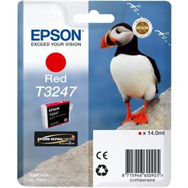 Epson Puffin T3247 Red Ink Cartridge for Epson SC-P400 thumbnail
