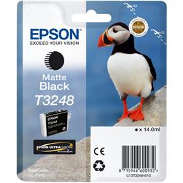 Epson Puffin T3248 Matte Black Ink Cartridge for Epson SC-P400 thumbnail