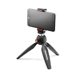 Manfrotto PIXI Mini Tripod with Universal Smartphone Clamp Thumbnail Image 2