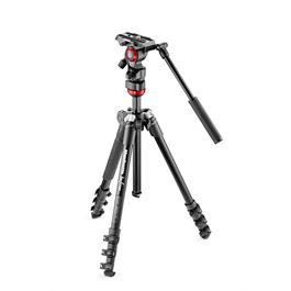 Manfrotto Befree Live Fluid Head With Befree Aluminium Tripod System MVKBFR-LIVE thumbnail