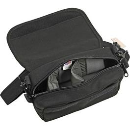 Either a shoulder bag or thread it through the belt loop for an instant waist/hip pack.