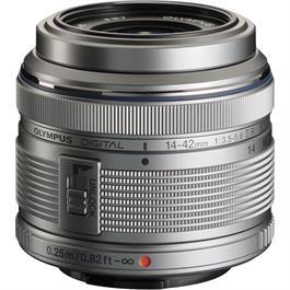 Olympus M.Zuiko Digital 14-42mm f/3.5-5.6 II R Zoom Lens - Silver thumbnail