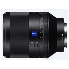 Sony Full-Frame FE 50mm F1.4 ZA Prime Lens Left Side
