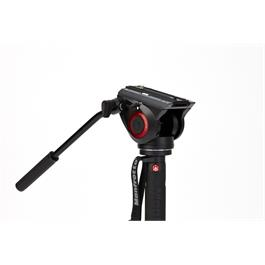 XPRO 4 Section Aluminium Video Monopod with Fluid Video Head MVMXPRO500