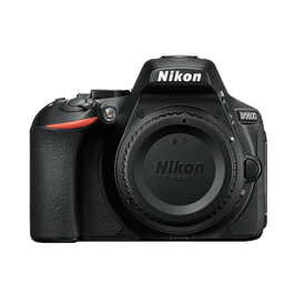 Nikon D5600 Body with Cap Front