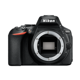 Nikon D5600 Digital SLR Camera Body - Black thumbnail