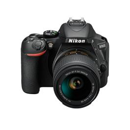 Nikon D5600 18-55 VR Kit Front Top Angle