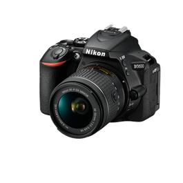 Nikon D5600 18-55 VR Kit Front Left Angle