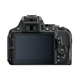 Nikon D5600 18-55 VR Kit Back with Screen