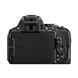 Nikon D5600 18-140 VR Kit Back with Screen Closed