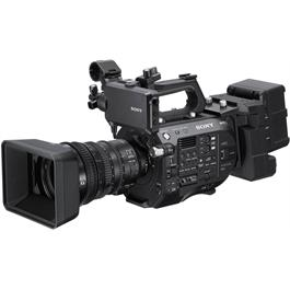Sony FS7 Mark II Kit - Front Angle Lens Attached