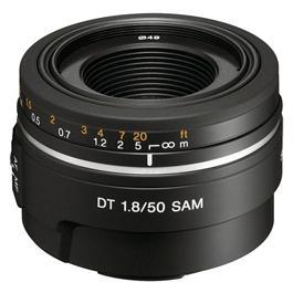 Sony A-Mount DT 50mm lens f/1.8 SAM thumbnail