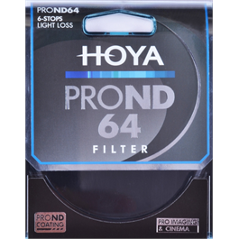 Hoya Pro ND 64 49mm Filter (6 Stops) thumbnail