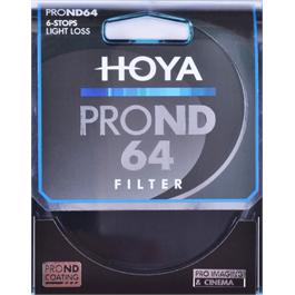 Hoya Pro ND 64 67mm Filter (6 Stops) thumbnail