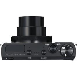 PowerShot G9 X II Black Top Zoomed