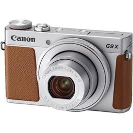Canon PowerShot G9 X Mark II Compact Digital Camera - Silver thumbnail